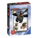Ravensburger-72614-09436-6 Mini Puzzle - Dragons