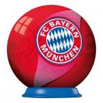 Ravensburger-72738-11857 Puzzleball 54 Teile - Fußball Bauern München
