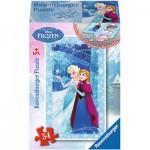 Ravensburger-73055-09455-02 Minipuzzle: Frozen - Die Eiskönigin