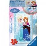 Ravensburger-73055-09455-04 Minipuzzle: Frozen - Die Eiskönigin