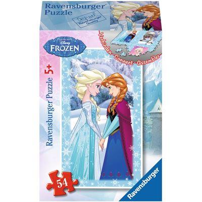 Ravensburger-73055-09455-06 Minipuzzle: Frozen - Die Eiskönigin
