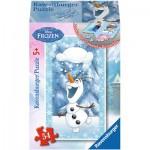 Ravensburger-73055-09455-08 Minipuzzle: Frozen - Die Eiskönigin