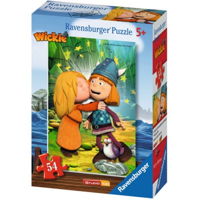 Puzzle Ravensburger-73296-09467-01 Wickie und seine Freunde