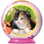 Ravensburger-73318-11900-02 Puzzleball - Kätzchen