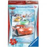 Ravensburger-73867-09452-04 Minipuzzle - Cars