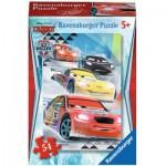 Ravensburger-73867-09452-07 Minipuzzle - Cars