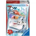 Ravensburger-73867-09452-09 Minipuzzle - Cars