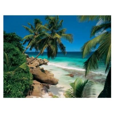 Puzzle Ravensburger-81366 Seychellen