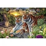 Puzzle   Versteckte Tiger