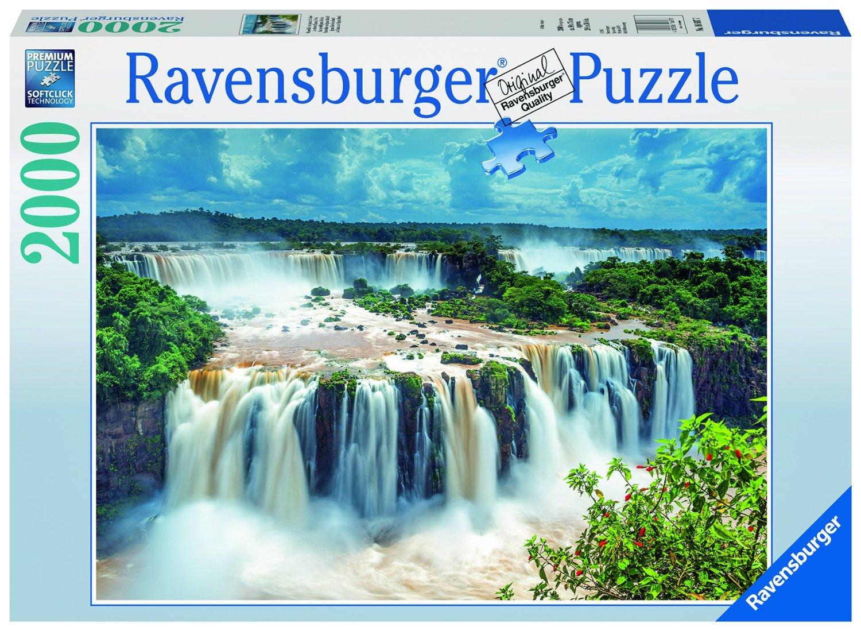 wasserf lle von iguazu brasilien 2000 teile ravensburger puzzle online kaufen. Black Bedroom Furniture Sets. Home Design Ideas