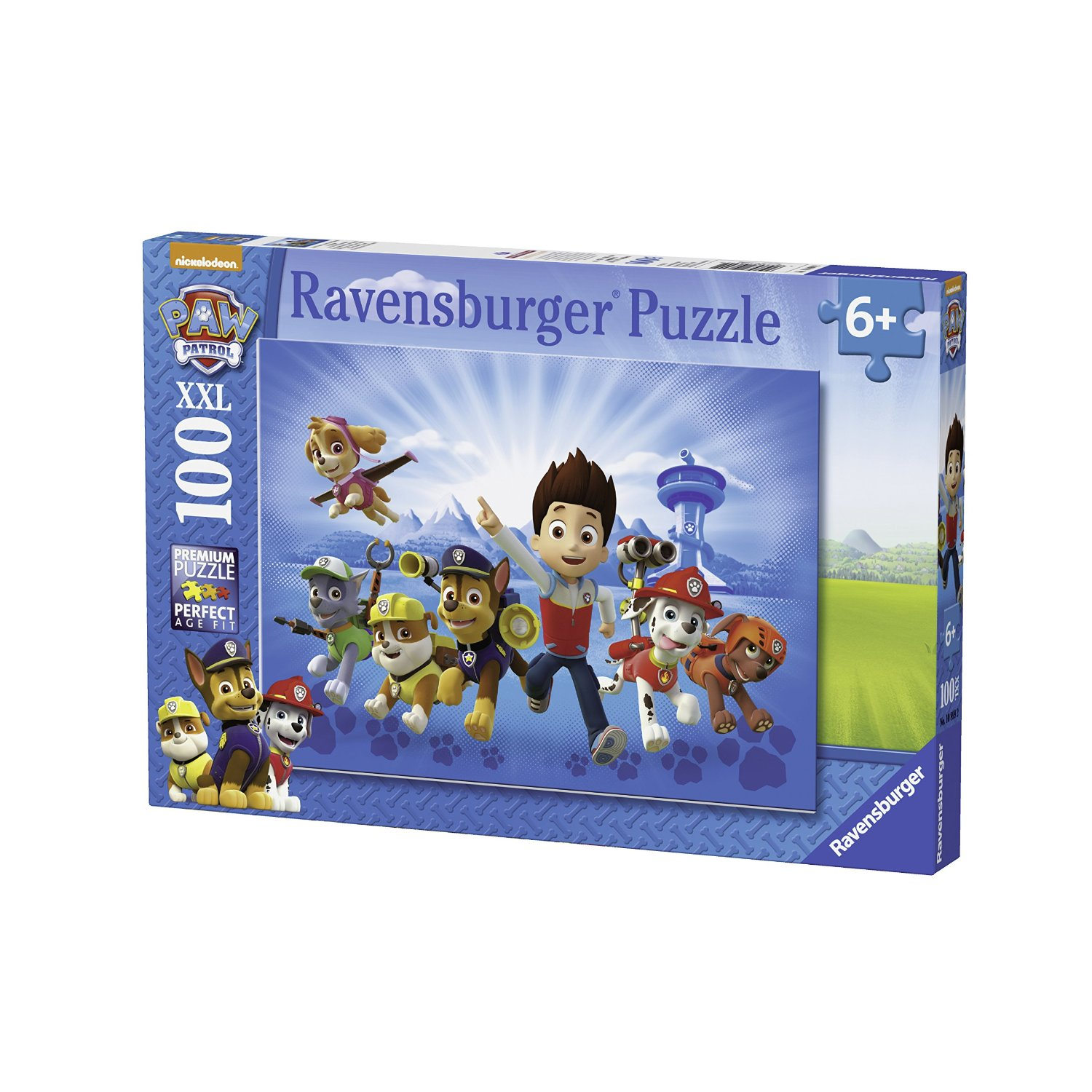xxl teile paw patrol 100 teile ravensburger puzzle online kaufen. Black Bedroom Furniture Sets. Home Design Ideas