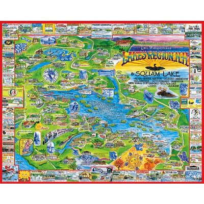 Puzzle White-Mountain-039 Lakes Region