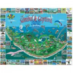 Puzzle  White-Mountain-1042 Sanibel & Captiva Islands