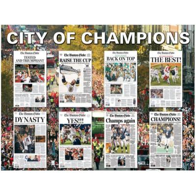 Puzzle White-Mountain-1046 Boston - City of Champions