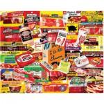 Puzzle  White-Mountain-1048 Bacon 101