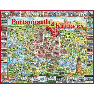 Puzzle White-Mountain-363 Portsmouth und Kittery