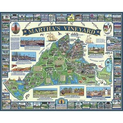 Puzzle White-Mountain-524 Martha's Vineyard, MA