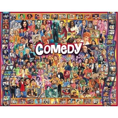 Puzzle White-Mountain-636 Comedy