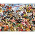 Puzzle  White-Mountain-682 Verrücktes Spielzeug