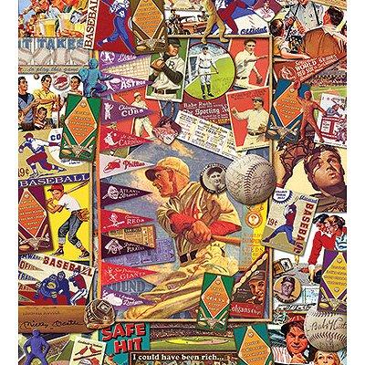 Puzzle White-Mountain-743 Baseball Collage