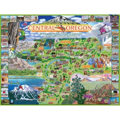 Puzzle White-Mountain-921 Oregon