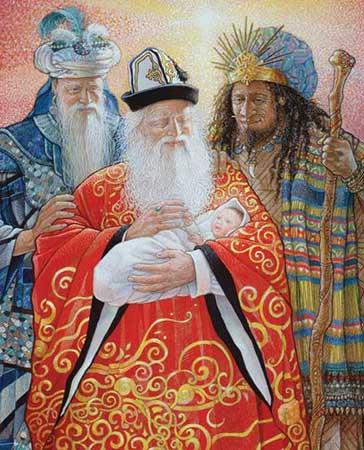 Puzzle White-Mountain-938 Die Heiligen drei Könige