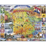 Puzzle  White-Mountain-997-1036 Missouri