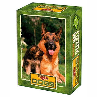 DToys-50199-DG08 Mini Puzzle - Mutterliebe
