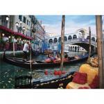 Puzzle  DToys-50328-AB10 Italien - Venedig