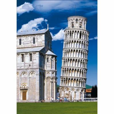 Puzzle DToys-50328-AB11 Italien - Der schiefe Turm von Pisa