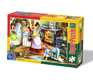 Puzzle Dtoys-60396-PV-03 XXL Teile - Aschenputtel