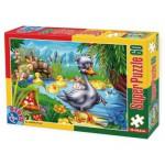 Puzzle  Dtoys-60396-PV-04 XXL Teile - Das hässliche Entlein