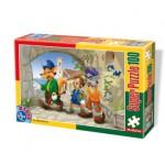 Puzzle  Dtoys-60402-PV-01 XXL Teile - Pinocchio
