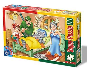 Puzzle Dtoys-60402-PV-02 XXL Teile - Rotkäppchen