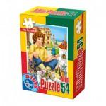 Dtoys-60471-PV-01 Mini Puzzle: Gulliver