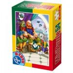 Dtoys-60471-PV-07 Mini Puzzle: Der gestiefelte Kater