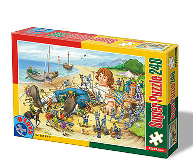 Puzzle Dtoys-60488-PV-01 XXL Teile - Gulliver
