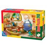 Puzzle  Dtoys-60488-PV-02 XXL Teile - Pinocchio