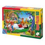 Puzzle  Dtoys-60495-PV-01 Schneewittchen und die 7 Zwerge