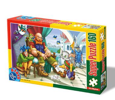 Puzzle Dtoys-60495-PV-03 Der gestiefelte Kater