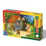Puzzle  Dtoys-60495-PV-04 Hänsel und Gretel