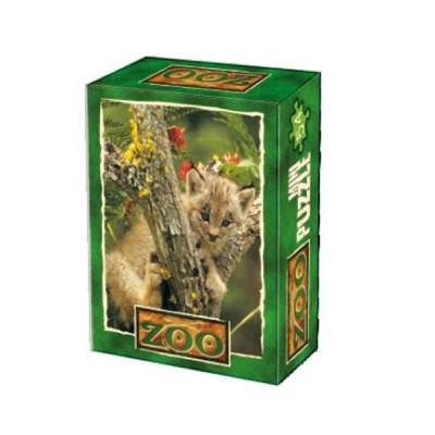 DToys-60556-ZO01 Mini Puzzle - Hoch auf einem Baum