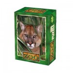 DToys-60556-ZO03 Mini Puzzle - Hinter dem Laub