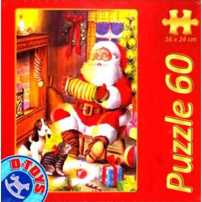 Puzzle Dtoys-60709-XM-01 Der Weihnachtsmann