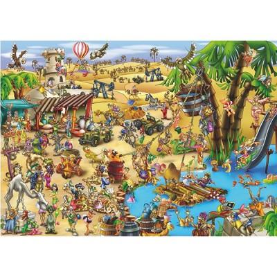 Puzzle DToys-61218-CC09 Cartoon Collection: Die Durchquerung der Wüste