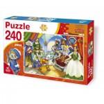 Puzzle  Dtoys-61393-BA-01 Der gestiefelte Kater