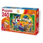 Puzzle  Dtoys-61393-BA-02 Schneewittchen und die 7 Zwerge