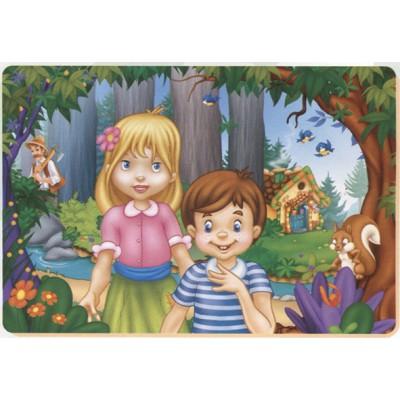 Puzzle Dtoys-61430-BA-02 Hänsel und Gretel