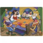Puzzle  Dtoys-61454-BA-01 Schneewittchen und die 7 Zwerge