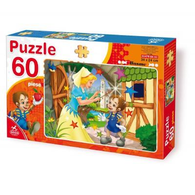 Puzzle Dtoys-61478-BA-02 Märchen und Legenden: Pinocchio
